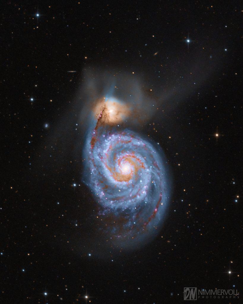 M51 - Whirlpool Galaxie